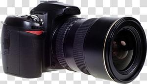kamera DSLR hitam, film grafis Lensa Kamera SLR Digital Kamera refleks lensa tunggal, kamera SLR png