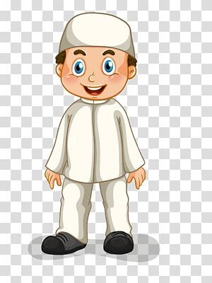 Keluarga Muslim, pria Islam, ilustrasi karakter pria png