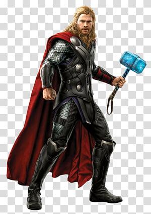Marvel Thor, Thor Ultron Iron Man Black Widow Jane Foster, pembalas png