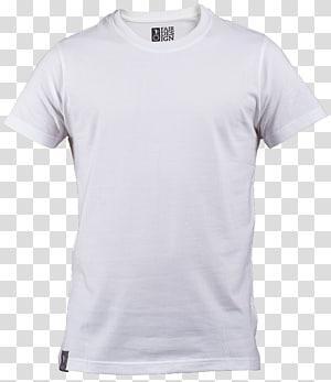 Kaus Hoodie cetak T-shirt, Kaos Putih Polos, kaos leher awak putih png