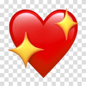iPhone X Apple Color Emoji iOS Heart, Emoji png