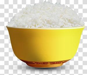 nasi putih dalam mangkuk kuning, ketan mangga. nasi putih ketan, nasi png