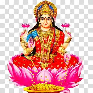 Ilustrasi digital Lakshmi, Ganesha Hanuman Lakshmi Laxmi Pooja, Lakshmi s png