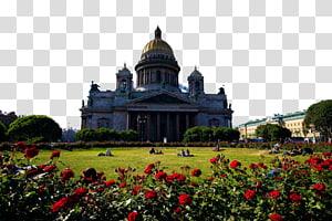 Gereja Katedral Saint Isaacs Juruselamat untuk Darah Fukei, lanskap Rusia dua PNG clipart