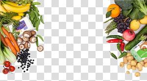 berbagai variasi templat sayuran, masakan vegetarian, sayur daun, buah-buahan dan sayuran png