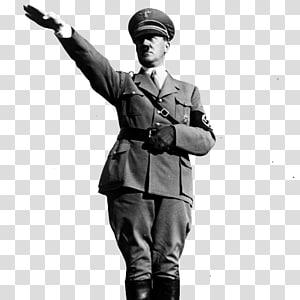 Amerika Serikat Nazi Jerman Nazi salut kepada Partai Nazi, Adolf Hitler, skala abu-abu Adolf Hilter png