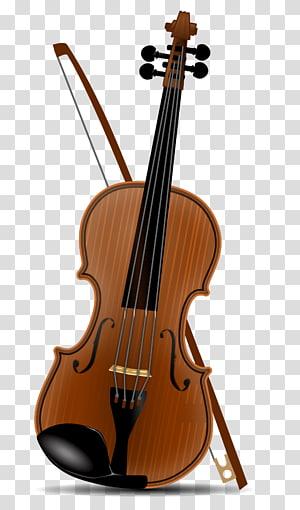 cello coklat dengan busur, Biola, piano portabel Redwood png
