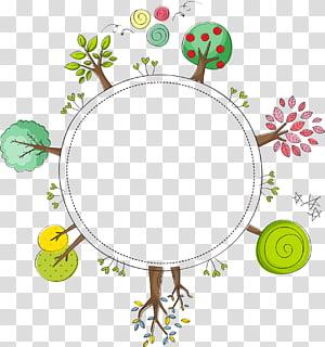 ilustrasi pohon, Euclidean Tumbuhan Pohon, Menanam pohon png