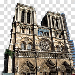 Notre-Dame de Paris Musxe9e du Louvre Sacrxe9-Cu0153ur, Paris Place de la Concorde Bandara Charles de Gaulle, latar belakang gereja Eropa PNG clipart