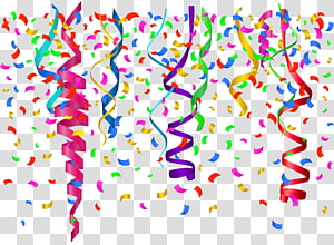 Confetti, Confetti, template latar belakang confetti warna-warni PNG clipart