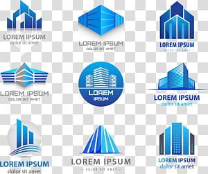 Lorem Ipsum membangun logo lot, Logo Building Real Estate, LOGO png