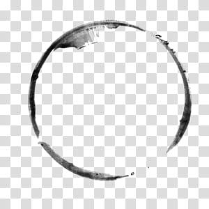 Kuas tinta Inkstick, Lingkaran tinta tinta sederhana png
