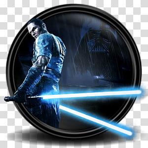 Piring dekoratif karakter Star Wars, ikon sphere komputer, Star Wars The Force Unleashed 2 11 png