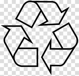 Simbol daur ulang Stiker Tempat sampah daur ulang, Tempat sampah png