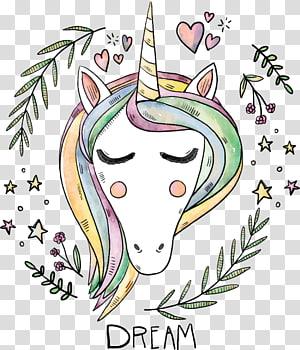 iPhone 8 Unicorn iPhone 7 Yoga Shavasana, Lukisan hewan lucu, ilustrasi unicorn png