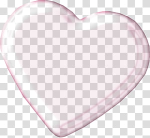 ilustrasi bubble heart, Pola Jantung, Pretty Pink Heart png