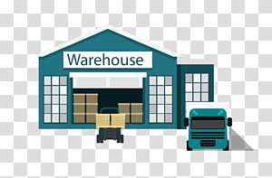 Gudang Euclidean Logistics, truk gudang png