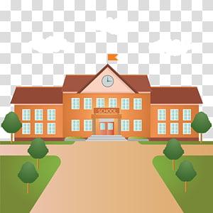 gedung sekolah cip art, Gedung Siswa Dewan Sekolah Distrik Halton Katolik, Sekolah png