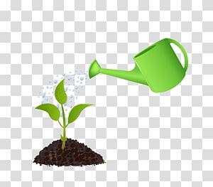 penyiraman hijau dapat menyiram tanaman berdaun hijau, penyiraman dapat menanam, penyiraman rumput png