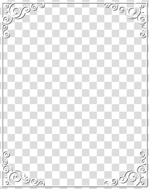 Pola Titik Titik Hitam dan Putih, Bingkai Perbatasan Putih PNG clipart