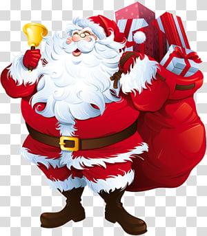 Ilustrasi Santa Claus, Santa Claus, Santa Claus dengan Big Bag png