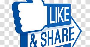 Suka tombol YouTube Media sosial Facebook, suka berbagi komentar, Suka & Bagikan logo png
