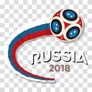 Piala Dunia FIFA 2018 2014 Piala Dunia FIFA Russia Football Sport, Piala Dunia 2018, logo Rusia 2018 putih, merah, dan biru png