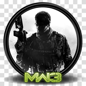 Call of Duty MW3, font hitam putih, CoD Modern Warfare 3 1a PNG clipart