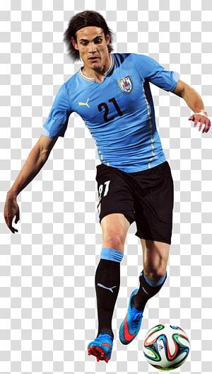 Edinson Cavani Tim nasional sepak bola Uruguay Pemain sepakbola Pemain Olahraga, piala dunia, ilustrasi Lionel Messi png