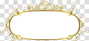 cermin dengan ilustrasi bingkai emas, bingkai, bingkai emas png