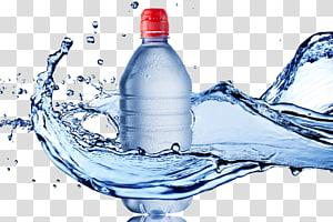 botol plastik bening dengan cairan biru, Saringan Air Air Minum Makanan Batu ginjal, air mineral png