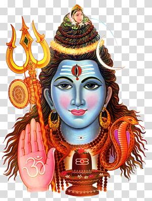 Ilustrasi Dewa Hindu, Maha Shivaratri Parvati SMS Om Namah Shivaya, Hanuman png