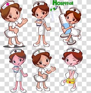 ilustrasi perawat, Keperawatan, perawat png