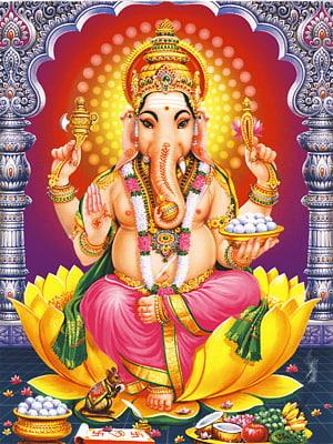 Ilustrasi Ganesha, Kuil Karpaka Vinayakar Shiva Ucchi Pillayar Temple, Rockfort Ganesha Dewa, hindu png