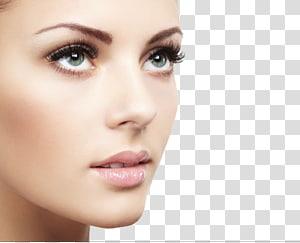 wajah wanita, Kosmetik ekstensi bulu mata Mascara Beauty Parlor, Model Makeup PNG clipart