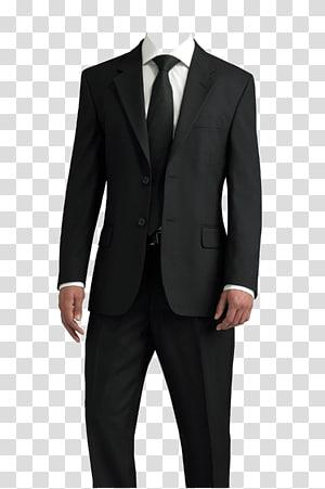 jas hitam pria, T-shirt, Jas png