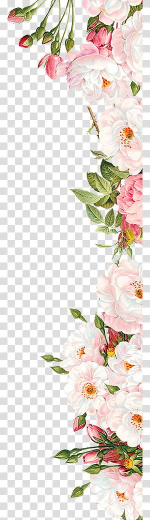 Bunga pink Undangan pernikahan, Bunga pink, merangkai bunga pink dan putih png