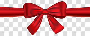 Red Bow tie Dasi Mode Pakaian, Red Ribbon and Bow, pita merah png