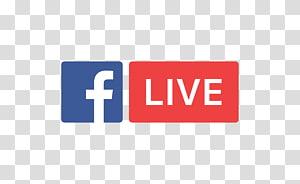Logo Facebook Live, Facebook, Inc. Streaming langsung Media streaming Livestream, tombol mulai sekarang png