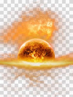 matahari, Earth Fire HD png