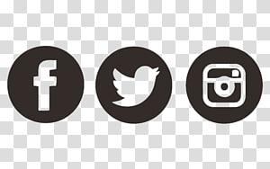 Facebook, Twitter, dan logo Instagram, media sosial Ikon Komputer Facebook Layanan jejaring sosial, seperti kami di Facebook png