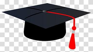 topi kelulusan hitam, topi akademik Topi Wisuda persegi, Topi Wisuda png