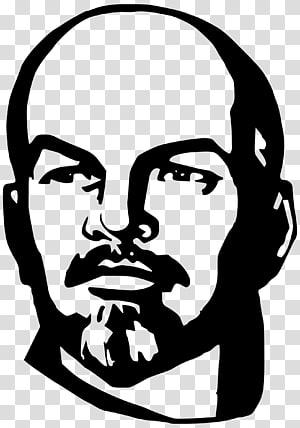 ilustrasi wajah manusia, Vladimir Lenin Uni Soviet, Vladimir Lenin png