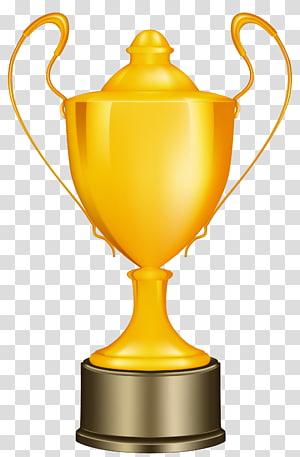 ilustrasi piala oranye, Piala Vince Lombardi, Piala Emas png