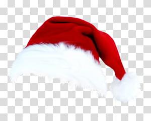 Ilustrasi topi Santa Claus, Topi Natal Santa Claus, topi Natal bahan gratis png