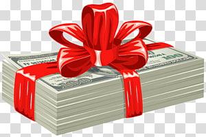 bundel uang kertas, Uang Euro, Hadiah Dolar png