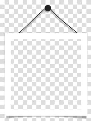 Hitam dan putih Titik Sudut, Bingkai gantung, bingkai gantung putih persegi dalam close-up png