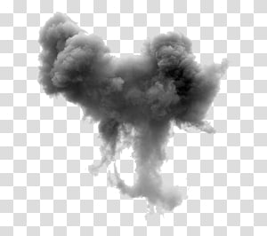 Sketsa Echo Matoula, Black meledak asap, asap putih PNG clipart