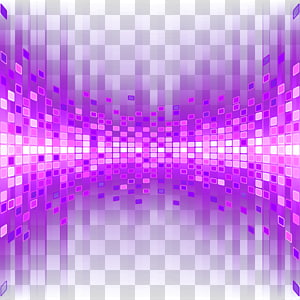 Cahaya Desain grafis, Efek cahaya latar belakang partikel ungu, piksel ungu dan merah muda png