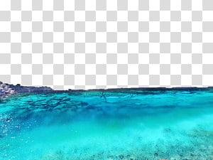 badan air hijau, Sumber daya Air Langit Laut, air png
